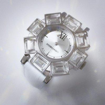 DYRBERG/KERN 丹麥名牌 大晶鑽 設計風女錶