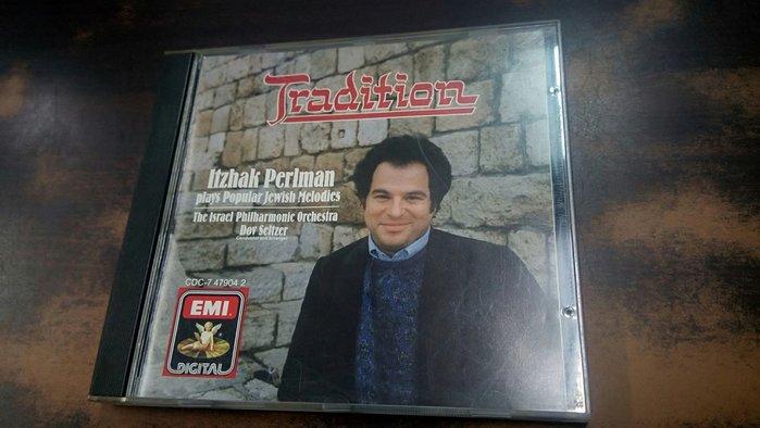 好音悅 Perlman 帕爾曼 Tradition Israel Philharmonic EMI 美版 無IFPI