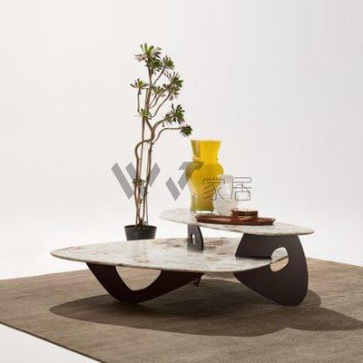 【WJ家居】 經典復刻Walter Knoll WK套幾 層次套幾 設計造型款石面桌 餐桌 工作桌 擺飾桌 客廳桌