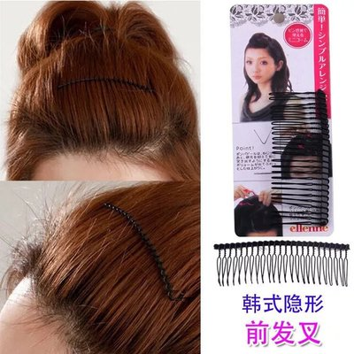 韓版前瀏海造型固定髮梳 插梳 髮飾頭飾 髮叉