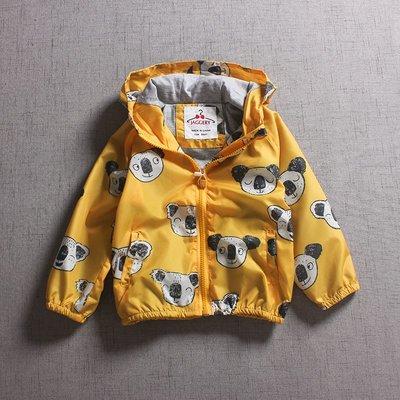 【Mr. Soar】 B490 秋季新款 歐美style童裝男童防風連帽外套 現貨