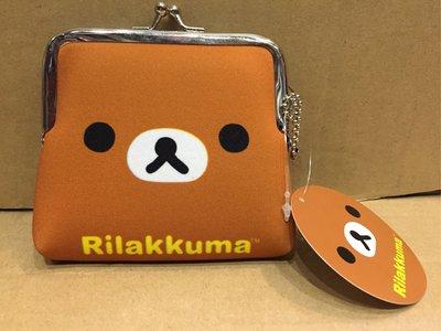 [變身館日本服飾]~SAN-X~RILAKKUMA~拉拉熊~零錢包~證件~泡綿材質~日本購入~全新商品~現品~~出清價