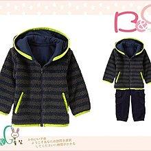 【B& G童裝】正品美國進口GYMBOREE外軟毛厚棉長袖連帽外套12-24mos