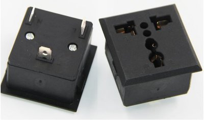 電源插座 AC插座 嵌入式 卡式 萬能插座 萬用插座