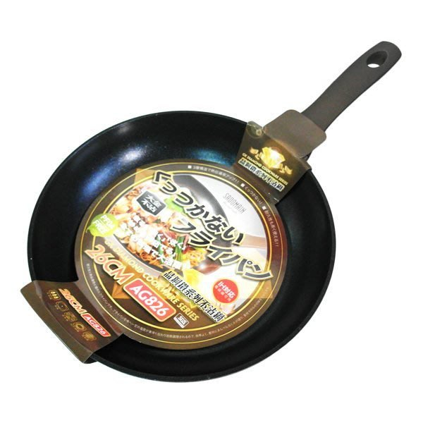 ☆台南PQS☆ 仙德曼 晶鋼鑽系列炒鍋/平底鍋(26cm)