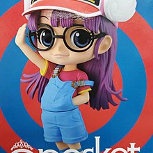 全新 Banpresto 日版 Q Posket IQ博士 小雲 Dr. Slump Arale Norimaki A Purple Hair