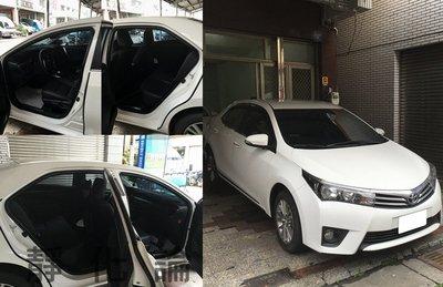 ☆久豆麻鉄☆ Toyota Altis 11代 可適用 (四門氣密) 全車隔音套組 汽車隔音條 靜化論 芮卡國際 公司貨
