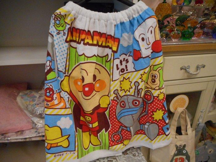 ~~凡爾賽生活精品~~全新日本進口麵包超人造型兒童浴裙