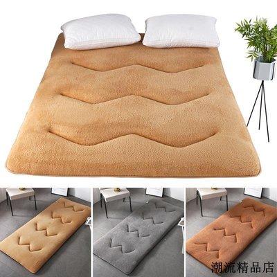 北歐家用簡約超柔羊羔絨榻榻米墊子加厚臥室床護墊飄窗墊地毯地墊