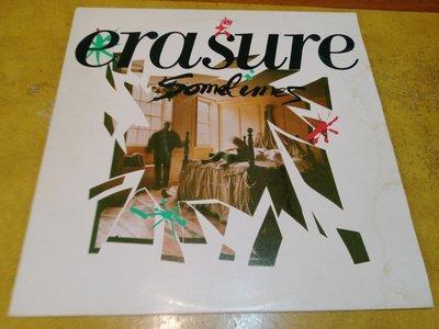 12吋混音單曲黑膠唱片《 Erasure - Sometimes 》英版、45轉