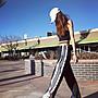 ADIDAS ORIGINALS 愛迪達 Pants 黑白 黑色 CV8276 排扣 三條 運動長褲 女款 XS-XL/