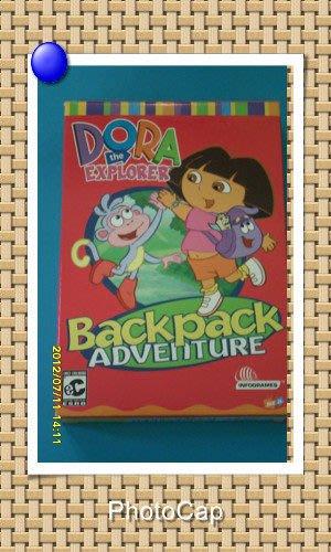*【幼兒教育CD-ROM】小pen *Dora 朵拉遊戲光碟-Backpack adventure-從遊戲中學習