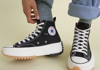 【現貨】JW Anderson x Converse Run Star Hike 聯名 厚底 黑 164840C