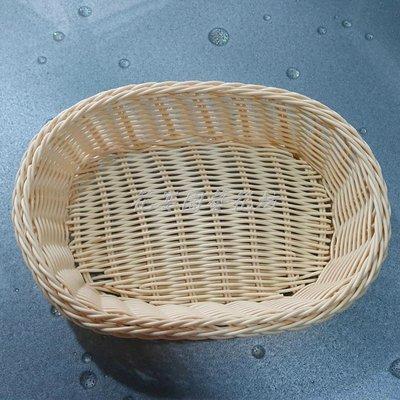 【花宴】*無裝飾橢圓籃*橢圓盤.煙盤.籐籃.花籃~喜糖籃~水果籃等
