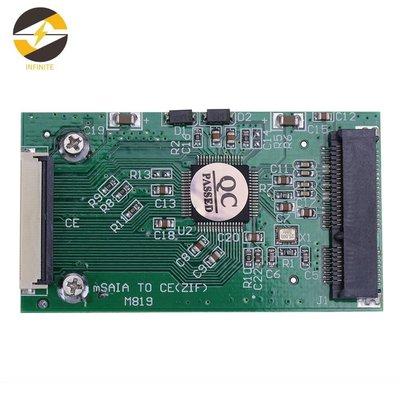 1.8寸msata轉CE|ZIF接口轉卡|1.8吋SSD硬盤轉CE msata轉ZIF格蘭蒂斯glsd