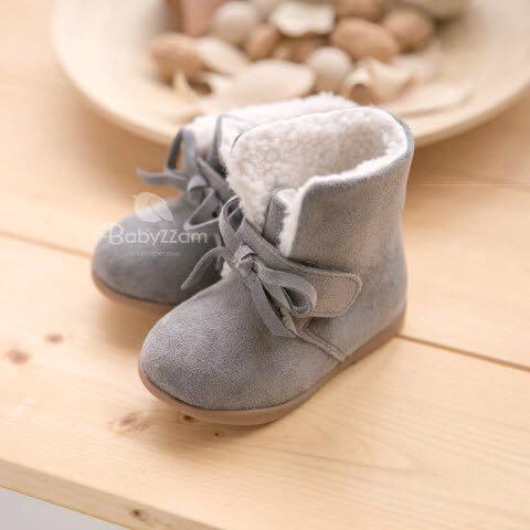『※妳好,可愛※』韓國童鞋 babyzzam雪靴 魔鬼氈雪靴 童靴 雪地靴 兒童雪靴 韓國雪靴 短靴(3色)