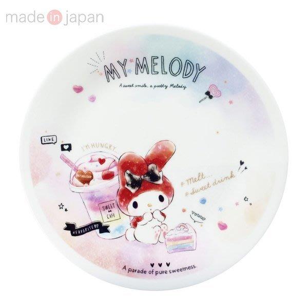4165本通 美樂蒂 日本製 陶瓷盤(20公分) 4964412308320 下標前請詢問