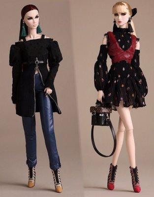 代購 Fashion Royalty Poetic Beauty Eden Lilith 雙子全新全套