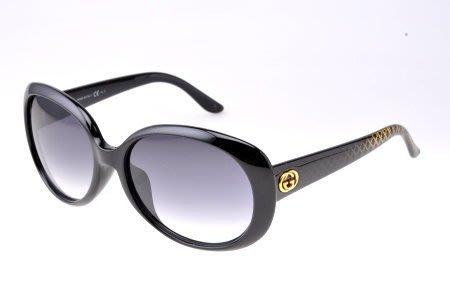 ☆鏡典眼鏡☆公司貨正品 GUCCI 太陽眼鏡~超有型復古款~亞洲版~616黑
