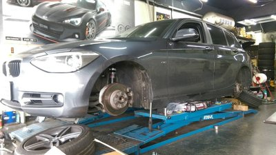KOO高低軟硬可調避震器【BMW】1 Series F20 11~