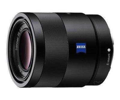 【台中 明昌 攝影器材出租】Sony 蔡司 FE 55mm f1.8 (SEL5518Z) 鏡頭 相機出租 鏡頭出租