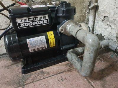 【宅配.自取 最低價】木川 超靜音 電子穩壓 水壓機 加壓機 加壓馬達 東元馬達 1/4HP KQ200 N E