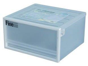 315百貨~日系無印良品風格~CK71 CK-71 單抽屜整理箱(白) *4入組/衣物收納盒/白色系/百納箱/開學