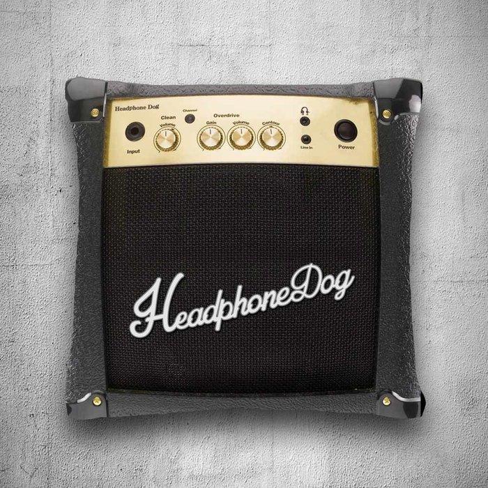 【HeadphoneDog】音樂音箱抱枕/靠背_大L:46X46  (marshall,korg)