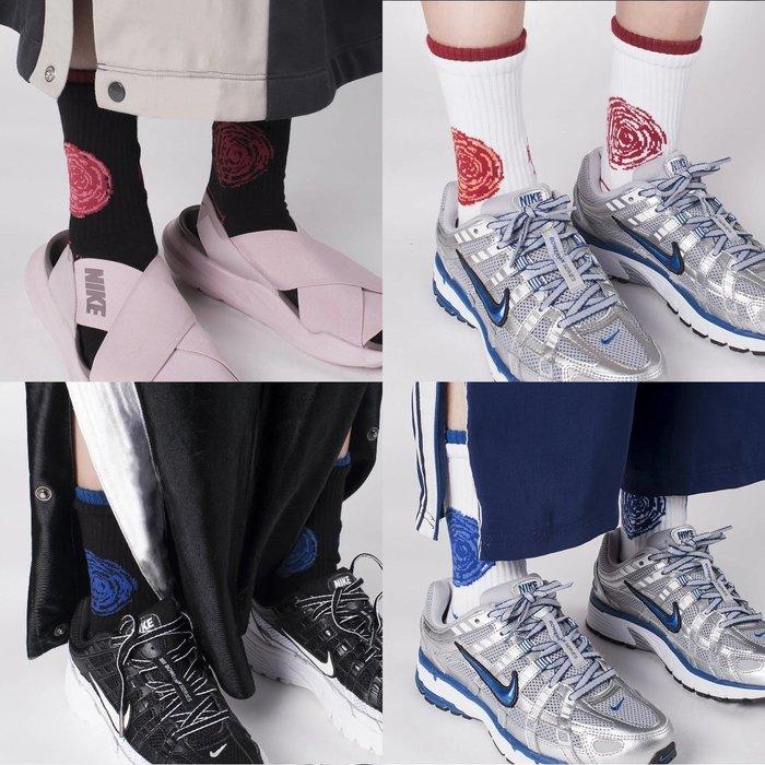 { POISON } NOZZLE QUIZ SPEED S2 雙層襪口設計 中筒橫紋羅織襪