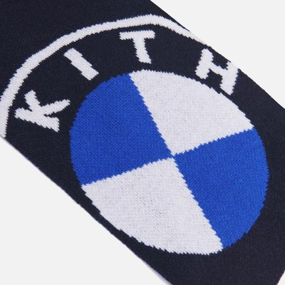 【日貨代購CITY】 KITH FOR BMW ROUNDEL KNIT SCARF 圍巾 現貨