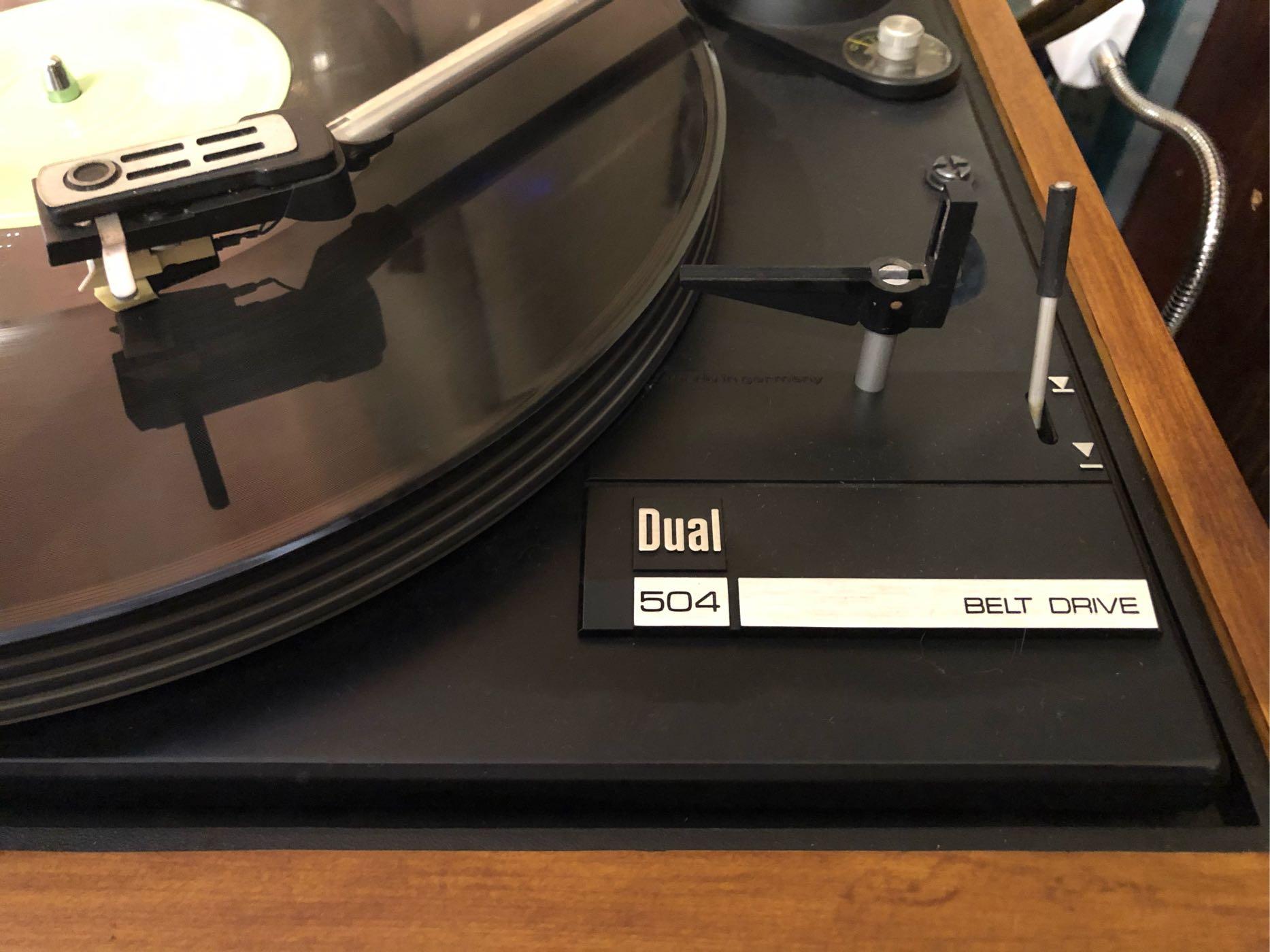 Dual 504德國經典古董黑膠唱盤