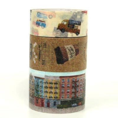 《散步生活雜貨-和紙膠帶》日本製 Mark