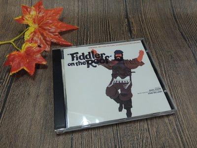 Q2002-二三十年前二手CD-美國版】FIDDLER ON THE ROOF.SOUNDTRACK-屋頂上的提琴手電影