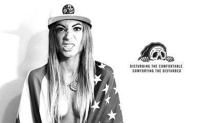 GOODFORIT / 美國品牌Sketchy Tank Ballin Snapback八號球主題電繡貼布棒球帽