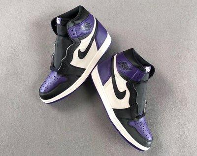 [6y 賣場] Jordan 1 Retro High Court Purple (GS) 黑紫 女碼賣場