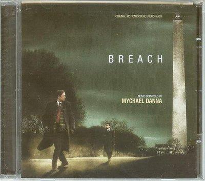 """""""雙面特勤(Breach)""""- Mychael Danna(03),全新美版"""