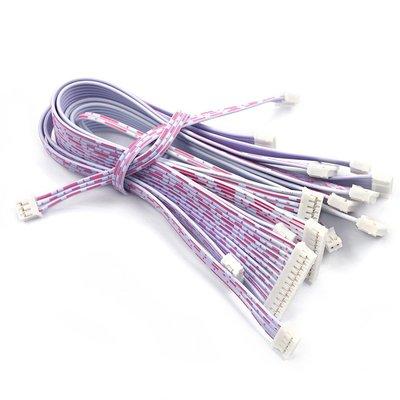 雜貨小鋪 PH2.0紅白排線 雙頭單頭 10 20CM 30 2P/3P/4P/5P/6P-12P 連接線