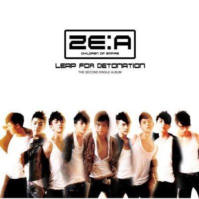 【象牙音樂】韓國人氣團體-- ZE:A 2nd Single - Leap For Detonation