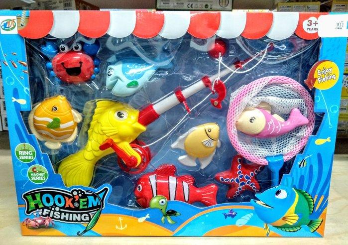 兒童磁性釣魚玩具🎉海洋總動員 絕對超值🎉嬰幼兒電動磁性釣魚玩具 兒童益智玩具 生日禮物🎀現貨桃園🎀