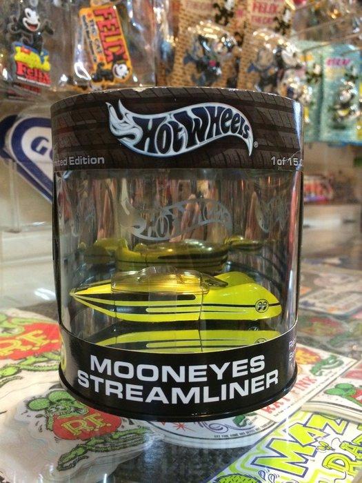 (I LOVE樂多)MOONEYES STREAMLINER HOT WHEELS 風火輪限量精美筒裝 1/64