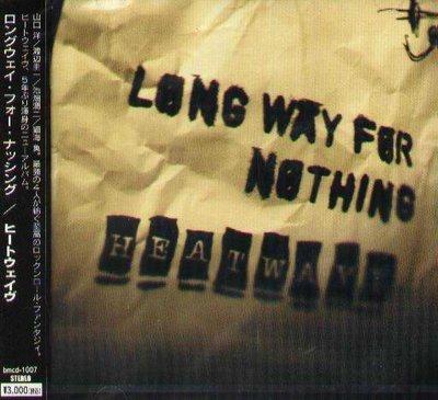 K - HEATWAVE - LONG WAY FOR NOTHING - 日版 - NEW