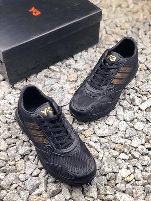 adidas Y-3 Adizreo Runner 緩震Boos 情侶款休閒運動慢跑鞋*EU36~45。S00222