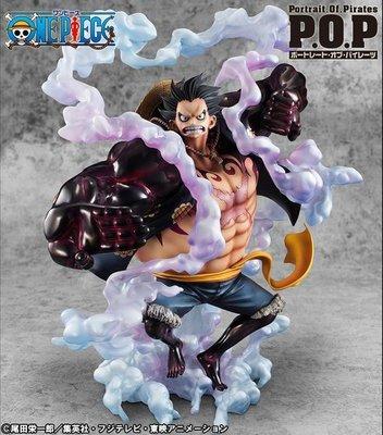 Megahouse 海賊王 POP P.O.P SA-MAXIMUM EML 魯夫 四檔彈跳人 (71555)