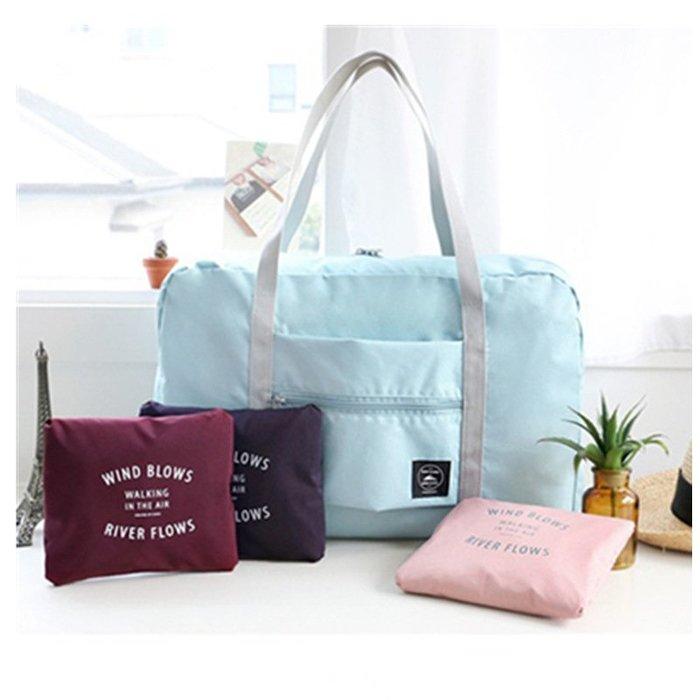 韓版可折疊行李拉杆包 旅行包 行李包二代飛機包 加大整理袋收納袋