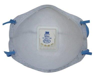 @安全防護@ 3M8577 P95口罩 活性碳可消除異味 保證新品10個/盒 另有8247 8576 8246