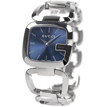 e6f8dd5c048 GUCCI 古馳手錶G GUCCI 系列30×32mm 藍寶石大G 手鍊手環女錶YA125405 ...