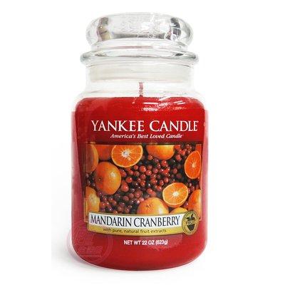 便宜生活館【家庭保健】Yankee Candle 香氛蠟燭 22oz /623g (蔓越莓) 全新商品 (可超取)