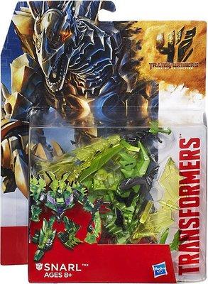 [出清特價] 變形金剛 電影 4 恐龍金剛 D級 豪華組 Snarl 咆哮 嚎叫 劍龍 孩之寶