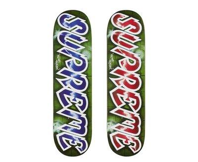 【希望商店】Supreme Lee Logo Skateboard 18SS 噴漆 設計師 滑板