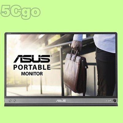 5Cgo【聯強】公司貨ASUS華碩MB169B+外接式LED背光螢幕自動選轉16型15.6吋IPS黑 另MB16AC含稅